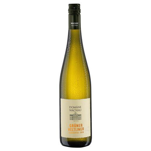 """Grüner Veltliner Federspiel """"Terrassen"""" 2020, Domäne Wachau, Österreich Der Weisswein des Jahres aus Österreich. (Weinwirtschaft 01/2009)"""