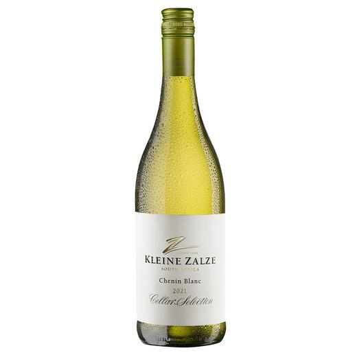 Kleine Zalze Chenin Blanc 2021, Stellenbosch, Südafrika Der beste Weisswein Südafrikas. Von 50 verkosteten Weissweinen aus Südafrika. (Mundus Vini Sommerverkostung 2015 über den Jahrgang 2015, www.mundusvini.com)