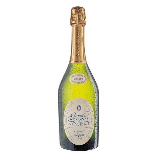 """Crémant de Limoux """"Grande Cuvée 1531"""" Brut, Aimery – Sieur d´Arques, Languedoc – Roussillon, Schaumwein - Die 10 Sieger kosteten alle über 40 Fr. Mit einer Ausnahme."""