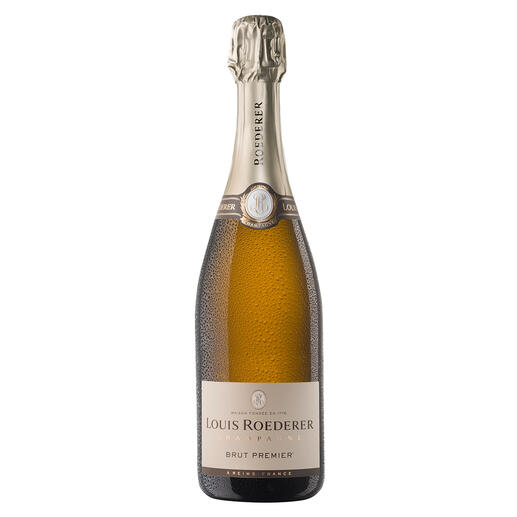 """Champagne Louis Roederer Brut Premier, Reims, Champagne AOC, Frankreich - Schon zum vierten Mal der """"Champagner des Jahres"""". (Weinwirtschaft 01/2007, 01/2008, 01/2011 und 01/2012)"""