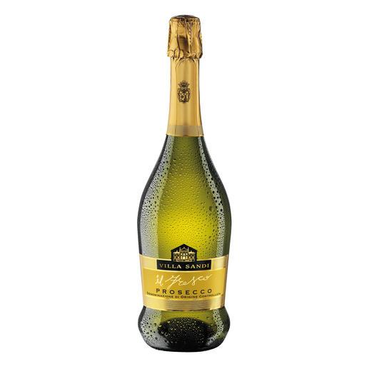 """Vino Frizzante """"il Fresco"""", Villa Sandi, Venetien, Italien Dreizehnmal (!) in Folge """"Prosecco des Jahres"""". (Weinwirtschaft 2006 bis 2018, jeweils Ausgabe 1 des Folgejahres)"""