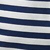 Blau-Weiss gestreift