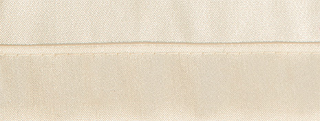 Detailansicht Saum 2 oder 12 cm festgesteppt