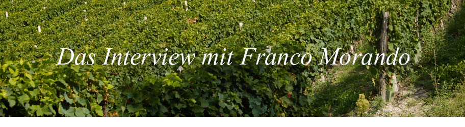 Interview mit Franco Morando
