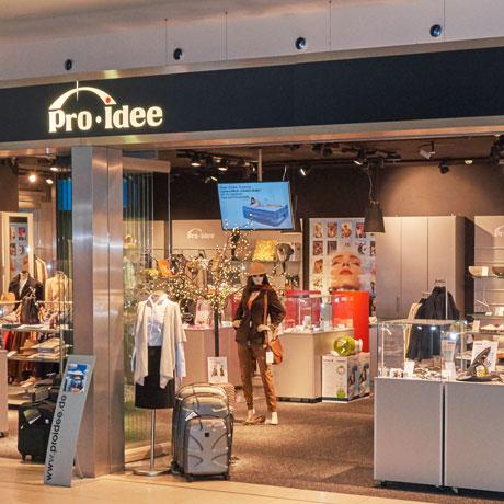 Pro-Idee Flughafen-Shop in Köln/Bonn