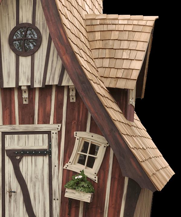 Märchenhaftes Gartenhaus, schlüsselfertig
